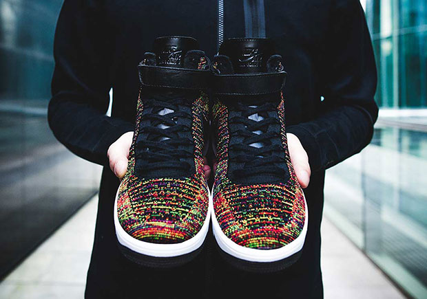 There s A Second quot Multi Colorquot Nike Air Force 1 Flyknit