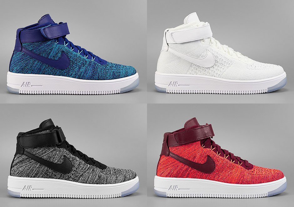 huge discount 5897b 2ffbf The Nike Air Force 1 Flyknit Released Today - SneakerNews.com