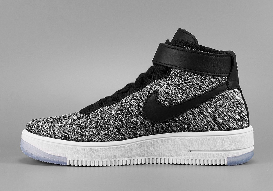 huge discount 26b0b 7de15 The Nike Air Force 1 Flyknit Released Today - SneakerNews.com