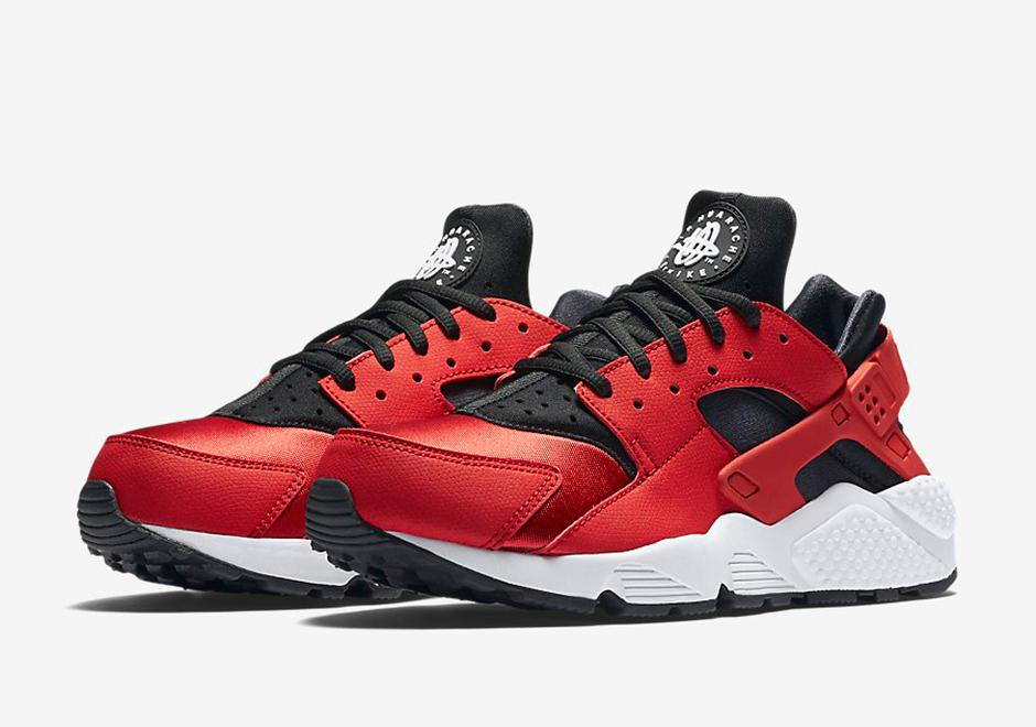 Nike Huarache Red White
