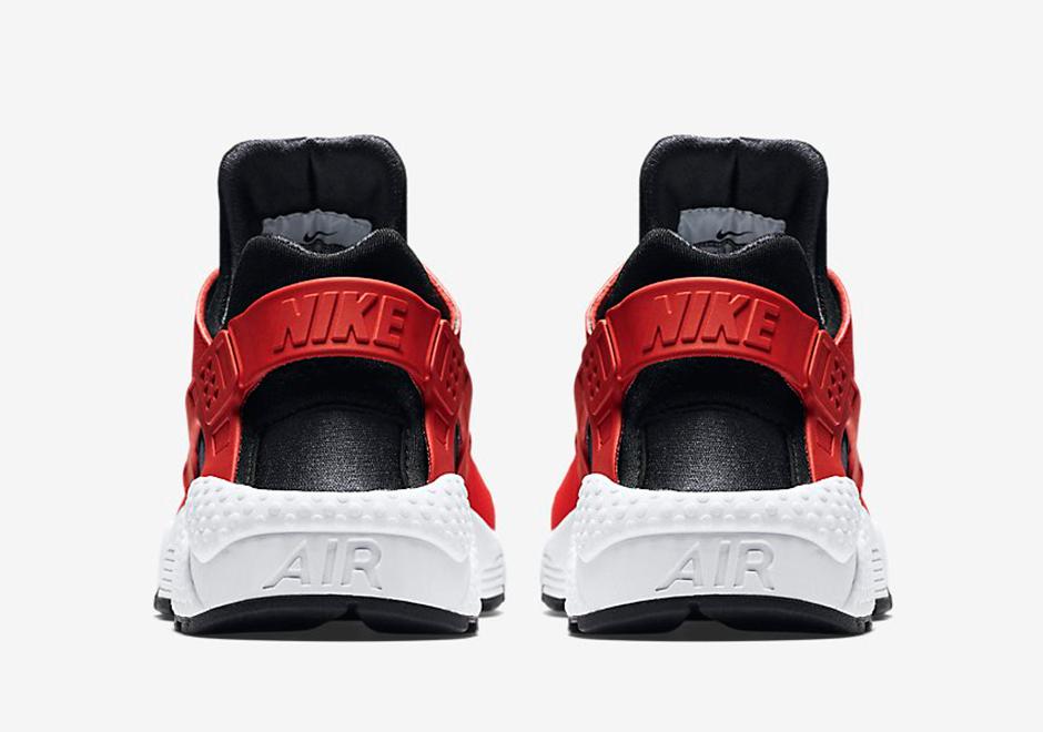 Nike Huarache Aria Università Rosso / Loghi Zampa Bianchi 10fGR