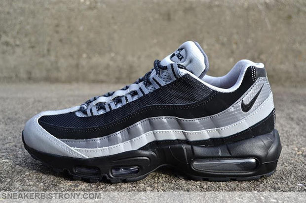new arrival b5577 d4afa Nike Air Max 95. Color  Black Black Wolf Grey Price   160
