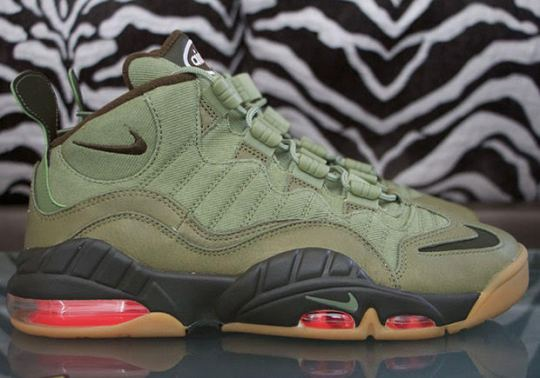 The Nike Air Max Sensation Appears In Military Themes