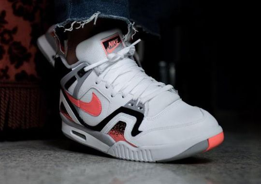 "Nike Is Releasing the Air Tech Challenge II ""Hot Lava"" Yet Again"