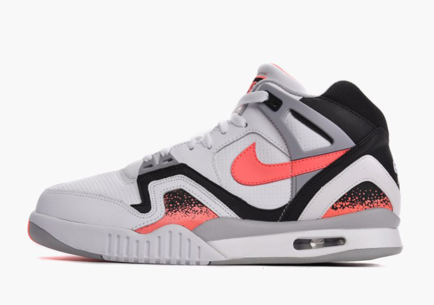 Nike Air Tech Challenge II  Hot Lava  ColorWhiteHot Lava Black Flat  Silver Style Code318408 104 Release DateJanuary 25th  2016 PriceTBD