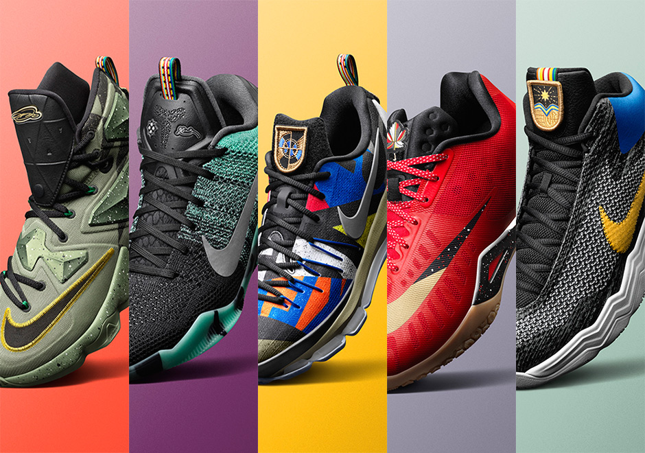 Nike All Star: Introducing The 2016 Nike Basketball All-Star Collection
