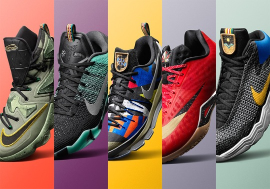 Introducing The 2016 Nike Basketball All-Star Collection