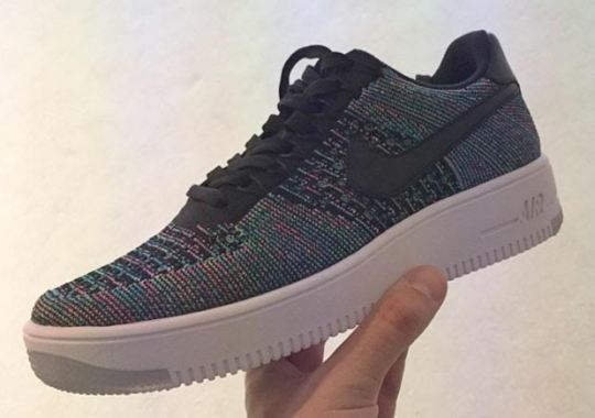 Here's A Preview of Upcoming Nike Air Force 1 Flyknit Colorways