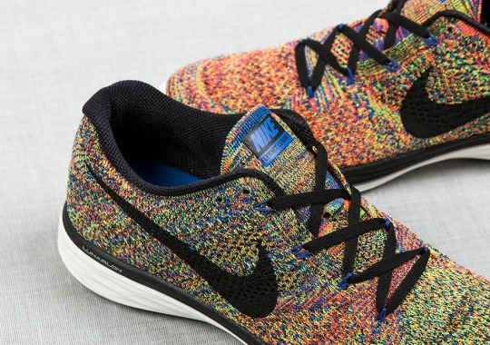 Nike Just Dropped A Multi-Color Flyknit Sneaker