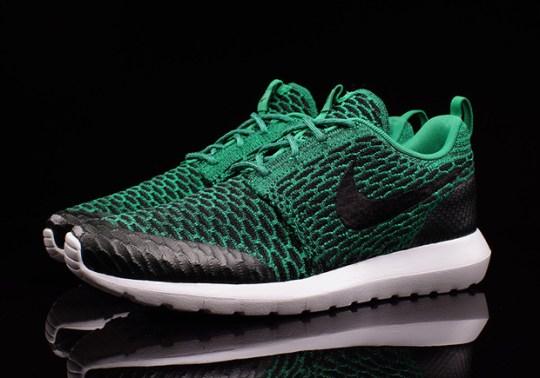 """Nike Flyknit Roshe Run """"Lucid Green"""""""