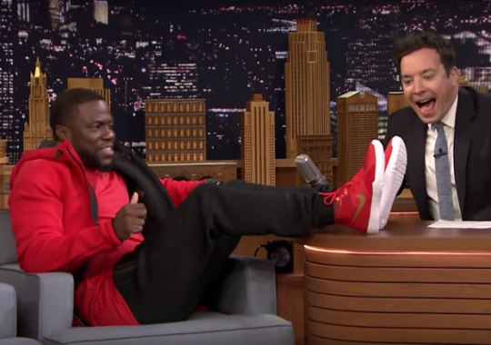 Nike To Release Kevin Hart Signature Shoe