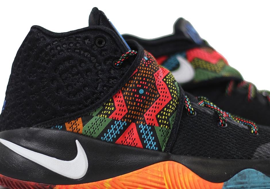 "best authentic 191a5 666da Nike Kyrie 2 ""BHM"". Color  Black Multi-Color Style Code  828375-099. Price   120. show comments"