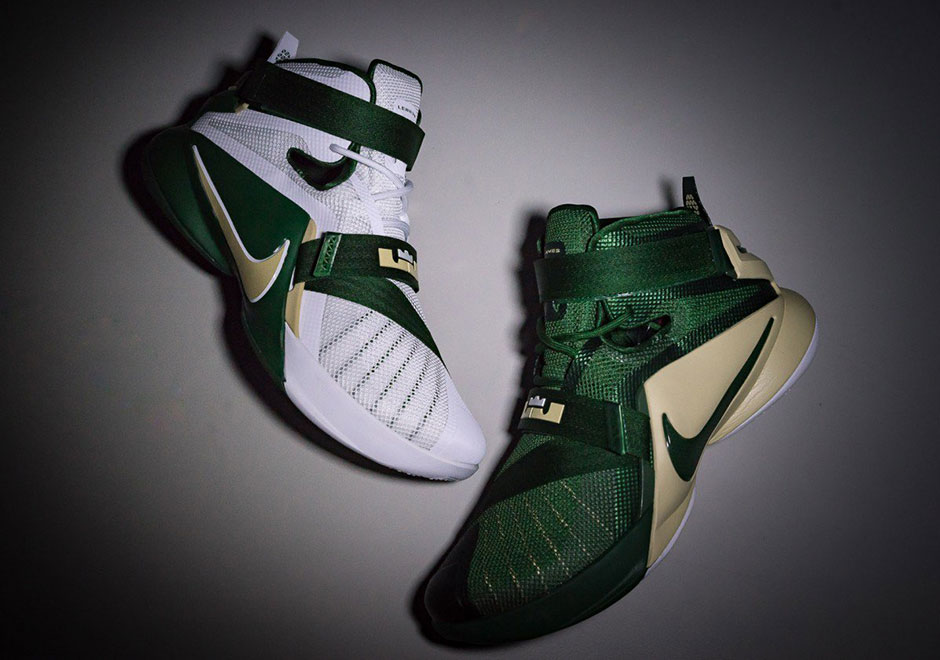 "big sale 04b0b ef6da A Closer Look At The Nike LeBron 9 Soldier ""SVSM"" Pack"