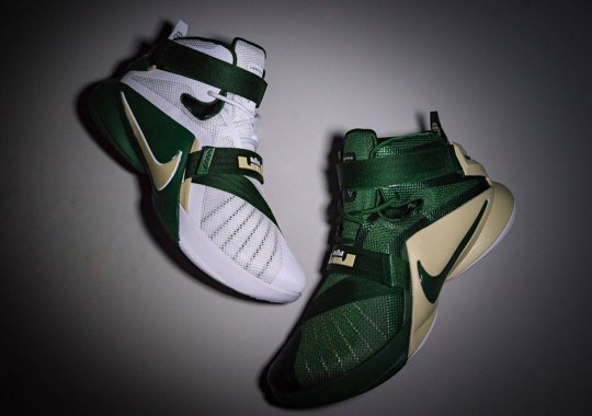 """A Closer Look At The Nike LeBron 9 Soldier """"SVSM"""" Pack"""