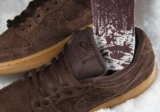 Bigfoot is Spotted On This New Nike SB Dunk Low