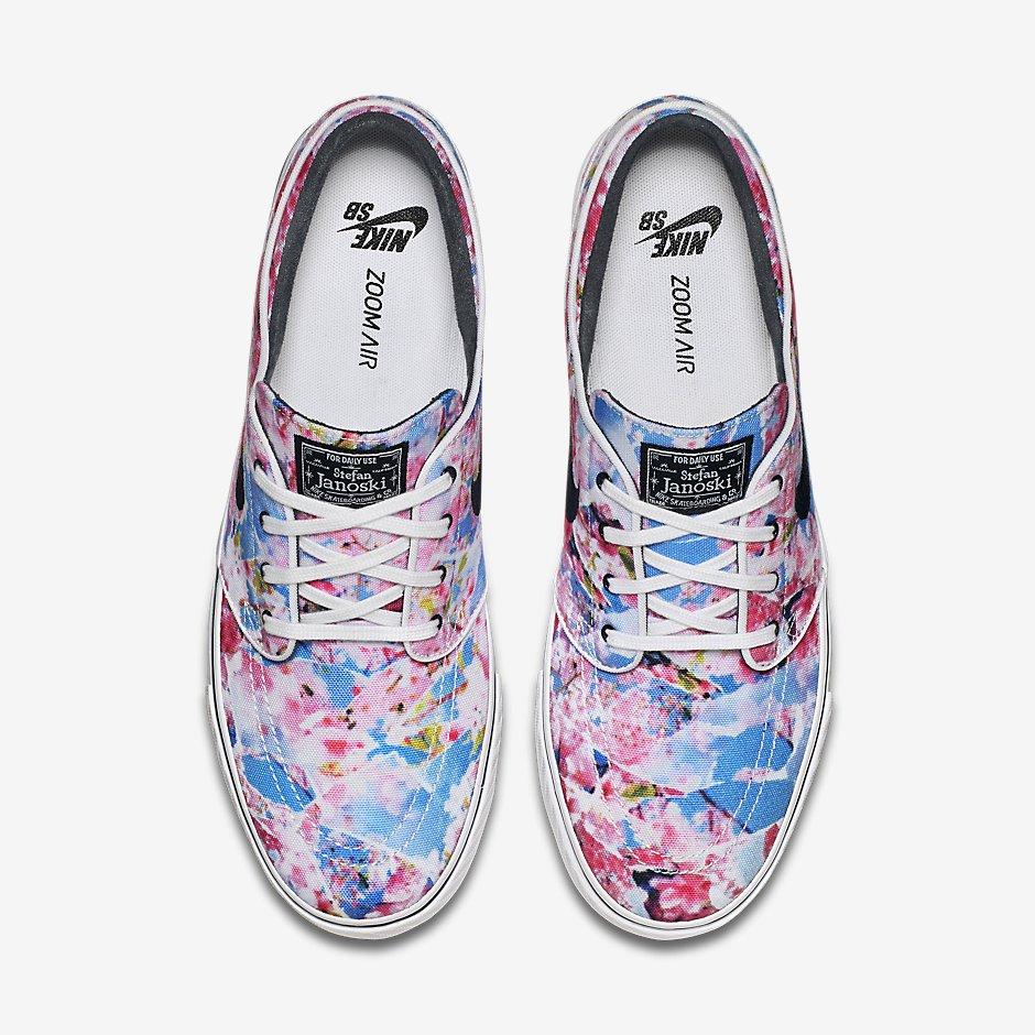 "info for e690f 6fe09 Nike SB Zoom Stefan Janoski PRM ""Cherry Blossom"""