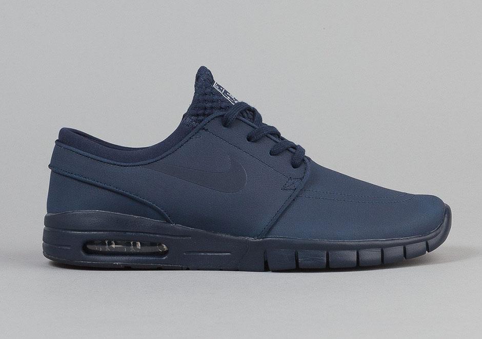 Nike Stefan Janoski Max Skinn Blå xie8w2Y
