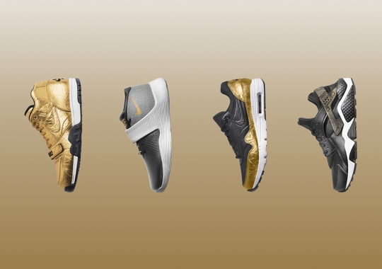 Nike Has An Enormous Golden Collection for Super Bowl 50