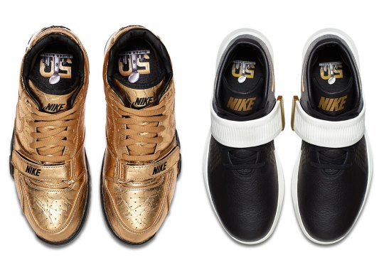 Nike To Celebrate Superbowl 50 With Golden Trainers