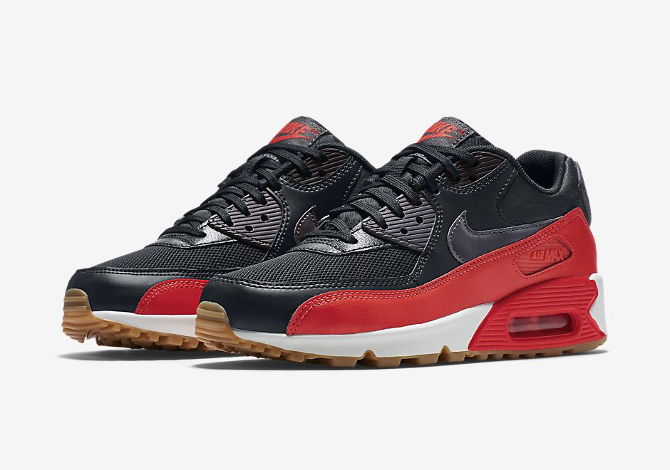 air max 90 bright crimson