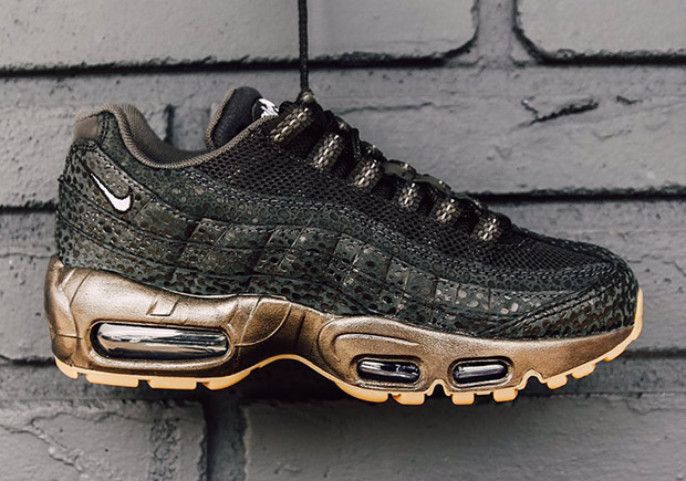 grossiste 8c92f cece0 Nike Goes Heavy On Safari Print For This Air Max 95 Gem ...