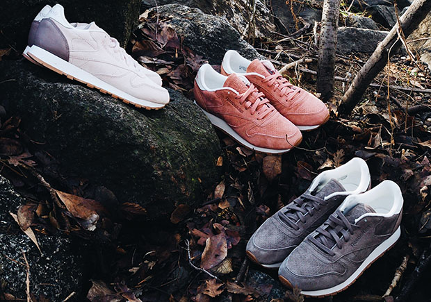 "Reebok Presents The Iconic Classic Leather In The ""Bread & Butter"" Pack"