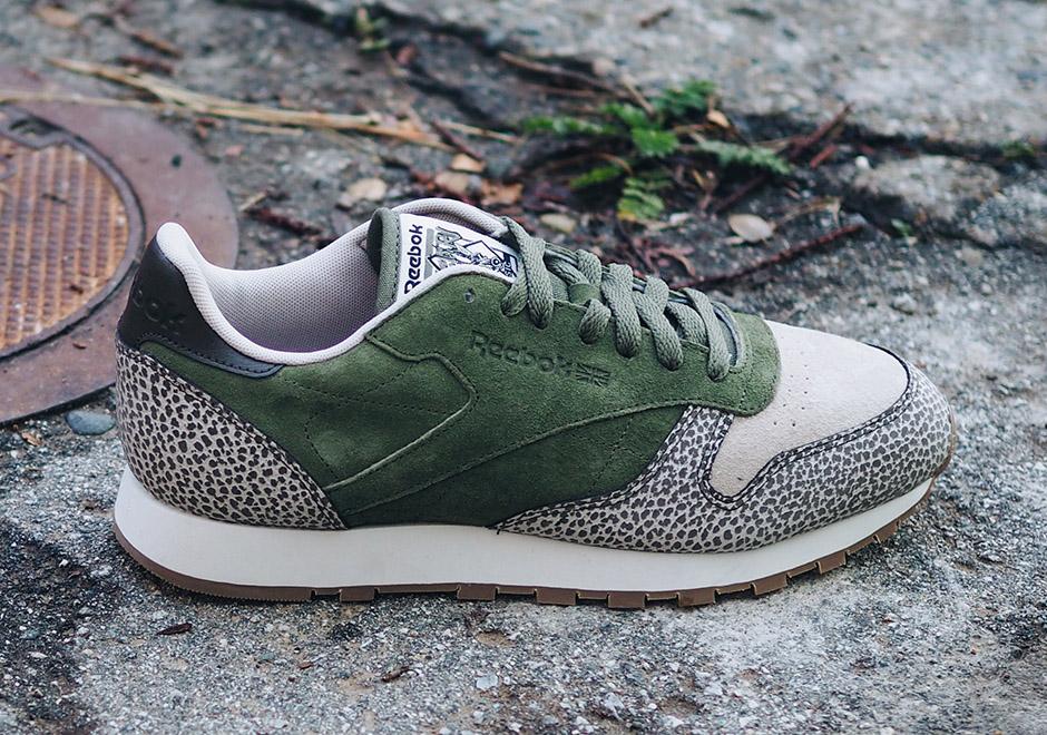 The Reebok Classic Leather Goes on Safari - SneakerNews.com 3f788283d
