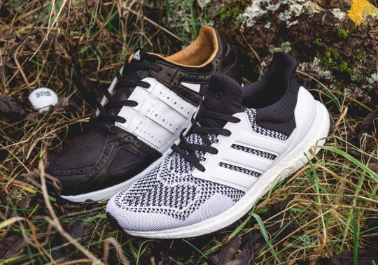 Sneakersnstuff Tees Off With The adidas Ultra Boost and EQT Guidance 93