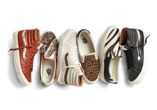Vans Vault Adds Luxurious Animal Prints For Spring 2016