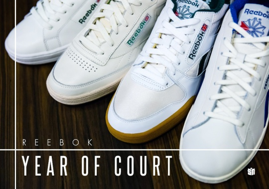 Reebok Presents the Year of Court With Club C and Other Iconic Models