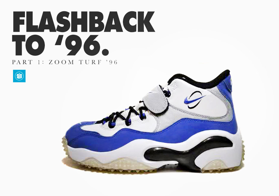 d76454be2f Flashback to '96: Nike Zoom Turf '96 - SneakerNews.com