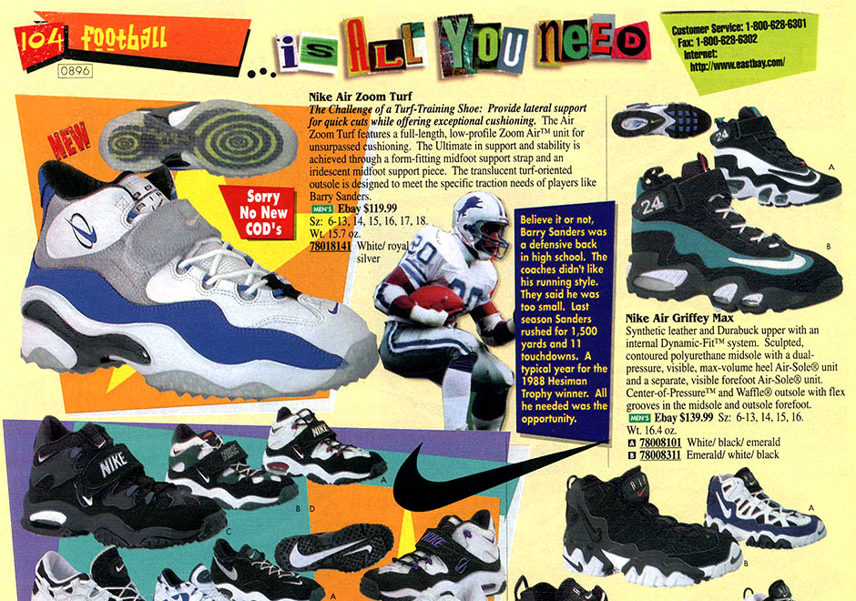 ee37b00e58 Built for the Turf. The Nike Zoom Turf debuted in 1996 ...