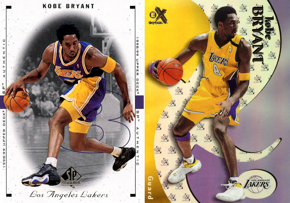 d5c260a3167c Basketball cards with a clear look at the KB8 II and KB8 III