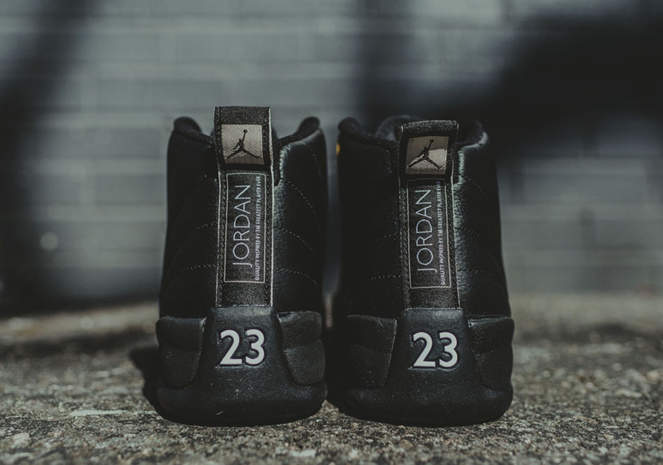 Nike Air Jordan 12 Xii Retro 2016 Del Negro Maestro 3kmBTWRWp