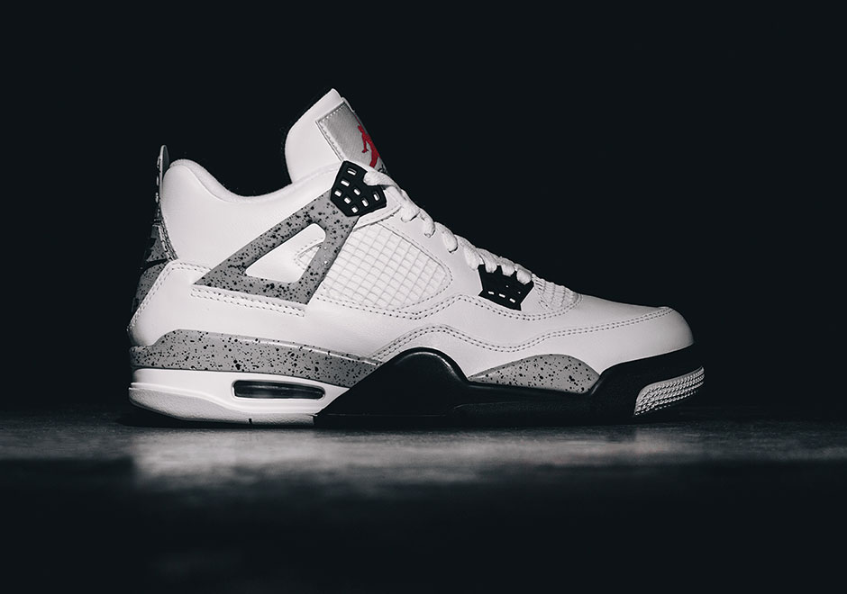 Nike Air Jordan 4 Cemento Blanco Retro Ebay Uk A3Duo9