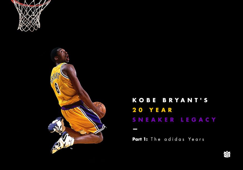 91498ea21d20 Kobe Bryant s 20 Year Sneaker Legacy – Part 1  The adidas Years