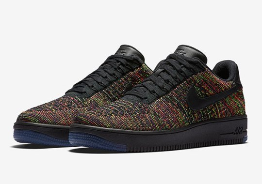 """A Detailed Look At The Nike Air Force 1 Low Flyknit """"Multi-color"""""""
