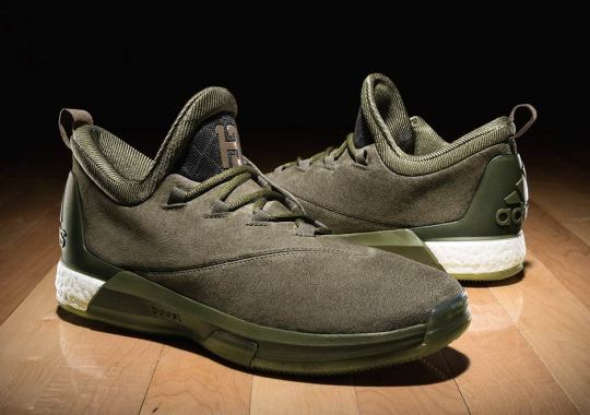 """info for 39b93 7d1f1 adidas To Release Crazylight Boost 2.5 """"Cargo"""" Worn By James Harden During  All-"""