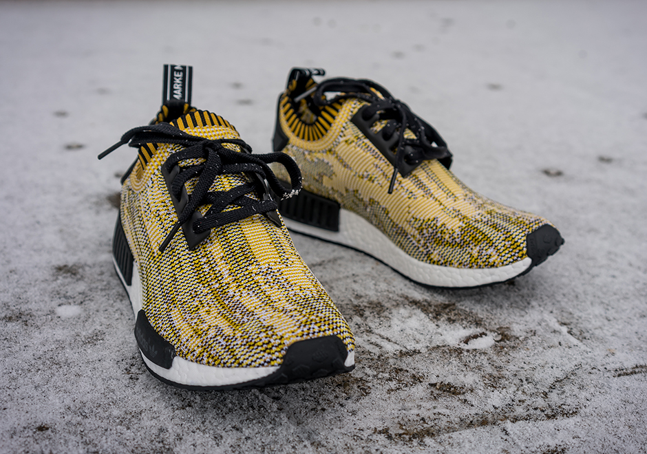 "101c8240f A Detailed Look At The adidas NMD Runner PK ""Yellow Camo"" - SneakerNews.com"