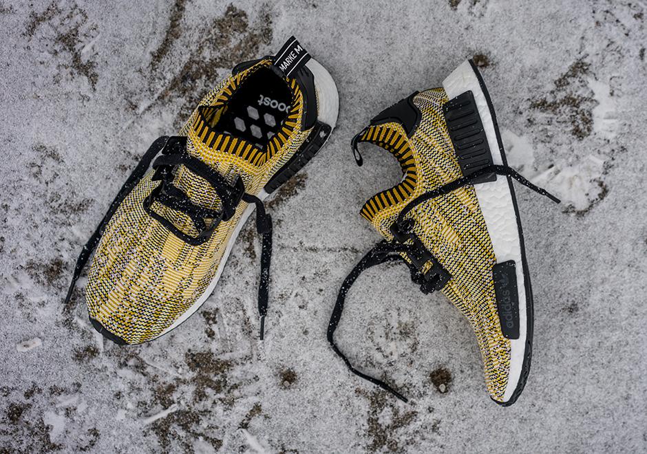 Adidas Corredor Nmd Primeknit Camo Amarillo sUQO0tD