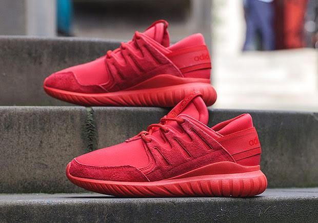 The All Red adidas Tubular Nova Is Here