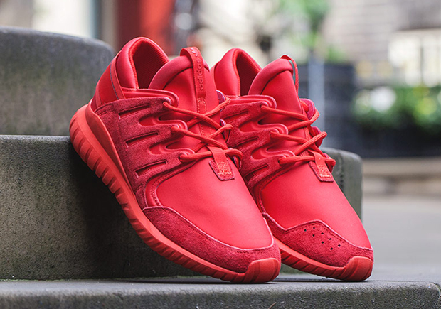 all red adidas tubular The Adidas