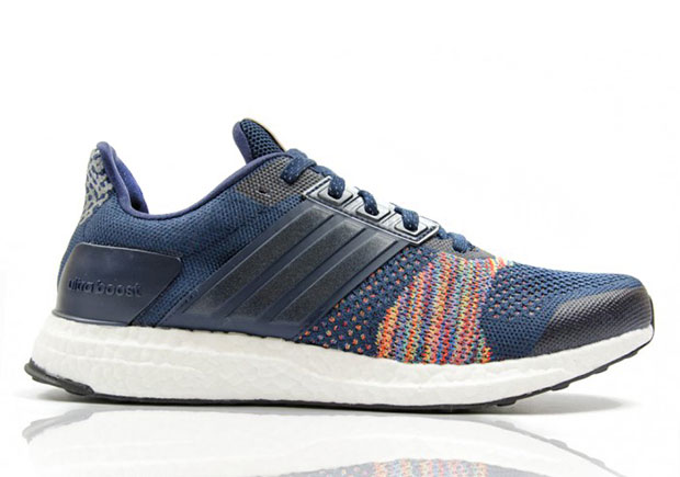 The new adidas Ultra Boost ST gets its most colorful option yet, with this  new colorway featuring an added rainbow effect. The Primeknit upper of the  ...