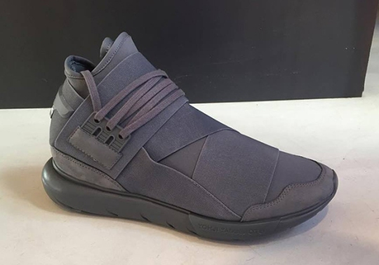 adidas Y-3 Releasing A Tonal Grey Qasa Hi