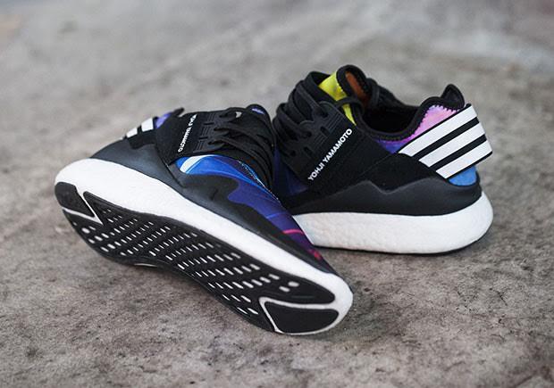 4ada5eb5a9f6c The adidas Y-3 Retro Boost Brings In Multi-Color Too