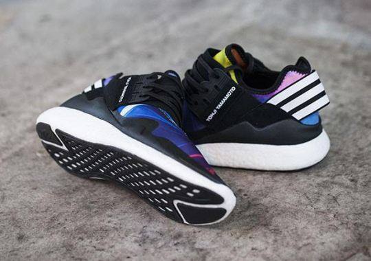 The adidas Y-3 Retro Boost Brings In Multi-Color Too