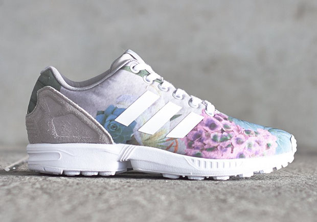 79aeae7f30de The ZX Flux Looks Towards Spring With a Floral Print and Suede