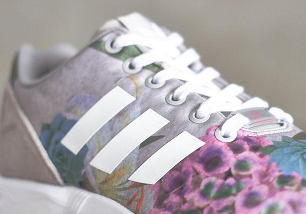 Flux Adidas Zx Femmes Impression Florale De gkNwl