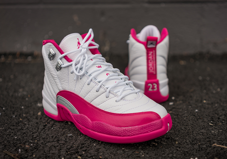 on sale 89387 b2004 Air Jordan 12 Valentine's Day Vivid Pink Release Info ...