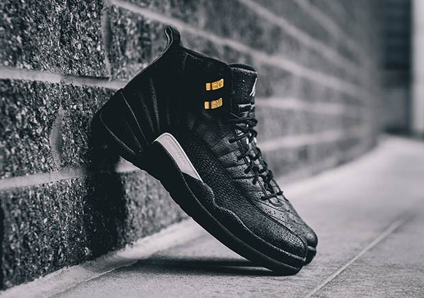 "d6702ae66b7 AIR JORDAN 12 RETRO ""THE MASTER"". Color: Black/Rattan-White-Metallic Gold"